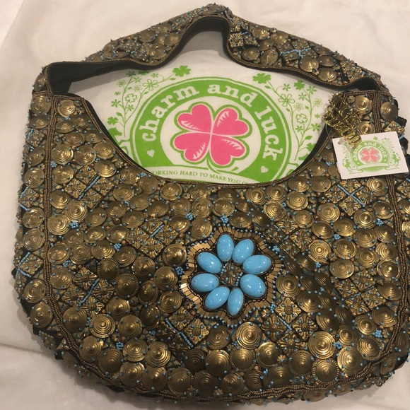 CHARM and LUCK Handbags - RARE AUTHENTIC CHARM AND LUCK PURSE